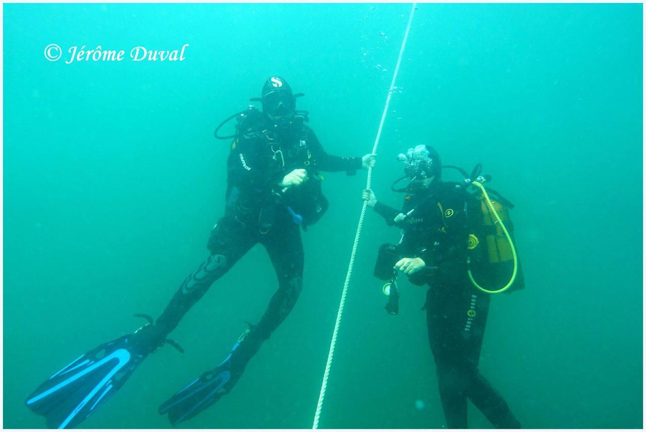 Cours de plongée dieppe